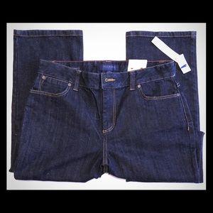 Talbots Heritage Straight Leg Size 8 Dark Jean